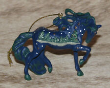 """TRAIL OF PAINTED PONIES White Christmas Ornament ~ 2.4""""Tall ~ Holiday 2018"""