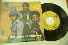 "THE O'JAYS"" FOR THE LOVE OF MONEY -disco 45 giri PB 1974"" NUOVO"