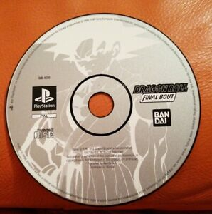 SONY PS1 GAME DRAGONBALL Z FINAL BOUT DISC ONLY TESTED PLAYSTATION 2 PSONE