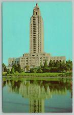 Baton Rouge Louisiana~State Capitol Building~1960s Postcard