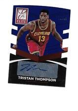 2014-15 ELITE Status Elite Signatures Blue TRISTAN THOMPSON (Cavaliers) #10/49