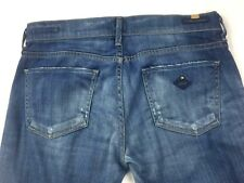 Citizens of Humanity Womens Jeans 29 Morrison Slim Boot Cut Distressed Hemmed