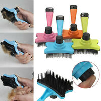 IK- Pet Dog Cat Hair Fur Shedding Trimmer Grooming Rake Comb Brush Adorable