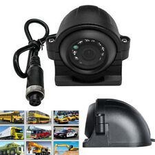 4 Pin 12/24V CCD Side View Camera IR LED Night Vision Cam IP67 For Truck Bus Van