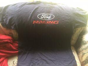 2xl N.O.S Ford Racing Drive One motorsport nhra drag Pro Stock Crew Shirt