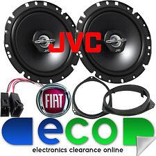 FIAT Grande Punto EVO JVC 17cm 6.5 Inch 600 Watts 2 Way Front Door Car Speakers