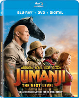 JUMANJI: THE NEXT LEVEL (NEW BLU-RAY+DVD, NO DIGITAL) SLIPCOVER