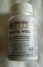 New listing Natura Petz Travel well 60 ct new