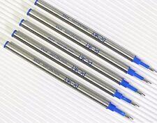10pcs POKY roller ball pen REFILLS standard BLUE ink