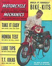 Motorcycle Mechanics Magazine August 1962 Honda Dream 250 Super Sport 250cc