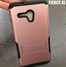 Alcatel One Touch Fierce XL 5054N - HYBRID ARMOR CASE COVER ROSE GOLD KICKSTAND