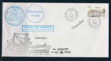FRb enveloppe TAAF fsat Paquebot peche  Kerguelen  port aux Francais  1985
