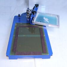 1 Color Screen Printing Machine With Rotary Screen Clamp Shirt Diy Press Printer
