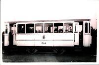 Original real photograph Tram Brussels SNCV 1764 tramcar circa 1940 vintage