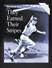 Sports Masters Bk.: They Earned Their Stripes : The Detroit Tigers All-Time Team