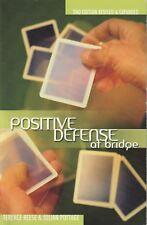 BRIDGE CARDS - POSITIVE DEFENCE AT BRIDGE Reese & Pottage **VERY GOOD COPY**