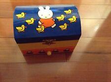 Miffy Jewelry Trinket Box Drawer Music