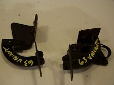 1963 PLYMOUTH VALIANT GLOVEBOX DOOR HINGES OEM