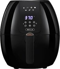 Bella 5.4 QT Digital Electric Air Fryer with LED Touch Display & Auto Shut-off