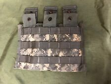 U s army UCP MOLLE II m4 three mag pouch side by side pouch