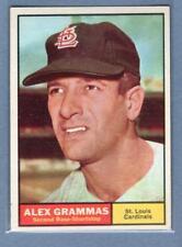 1961 Topps #64 Alex Grammas VG-EX     GO100