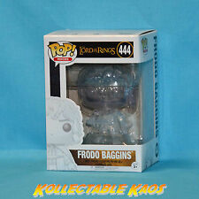 Lord of The Rings Invisible Frodo Baggins Pop Vinyl Figure Funko 444
