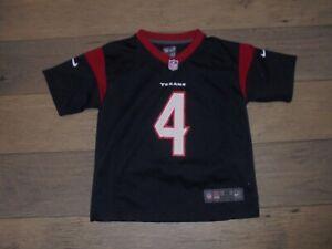 Nike Houston Texans #4 Deshaun Watson blue football jersey boys size M