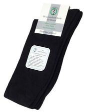Diabetic Cotton Men's Socks No Elastic Band with no Noticeable Seam (1 pair)
