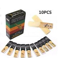 10Pcs Soprano Saxophone Reeds 2.5 Sax Parts Accessories Synthetic Z8U7