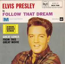 "ELVIS PRESLEY - Follow That Dream  EP 7"" 45"