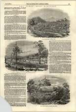 1853 Australia Goldfields Turon River (small Corner Tear)