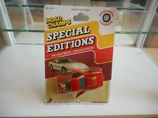 Road Champs Special Editions Corvette in Red on Blister