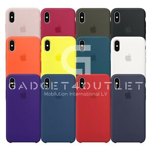New Apple iPhone X/Xs Silicone Case
