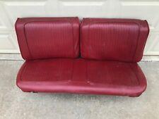 Original Mopar B Body Split Front Bench Seat Upper & Lower 2 Door Hardtop Coupe
