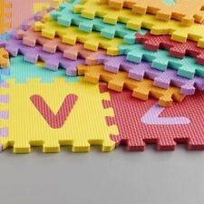 40pc Alphabet & Numbers EVA Foam Play Mat Set Kid Baby Use Garden XMAS Toy Gift