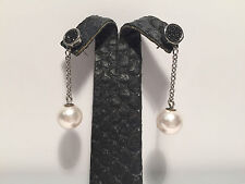 New - EarRings EarRings NOMINATION - Steel, Black Crystals & Pearls