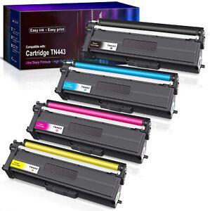 4X TN-443 TN443 Generic Toner For Brother HL-L8260CDW HL-L8360CDW MFC-L8690CDW
