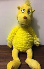 "Kohl's Cares Dr. Seuss Sleep Book Snoozapalooza Plush Yellow Stuffed Animal 18"""