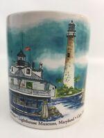 OTAGIRI Coffee Mug Tea Cup Lighthouses Kurt R Kress Stanley Papel Yaquina Bay
