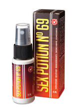 Sex Potion No 69 Liquid Food Supplement 15ml - Increases Sexual Desire & Arousal
