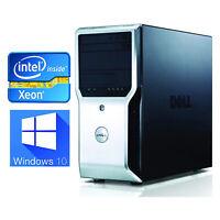 Dell Precision T1600 Workstation - Intel Xeon E3-1225 8GB 1TB SATA NVS 300