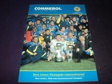 BOCA JUNIORS Intercontinental Champion vs Milan 2003 CONMEBOL Magazine #82