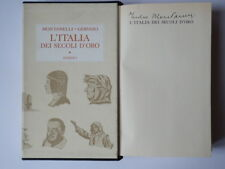 INDRO MONTANELLI Rizzoli Gervaso L'ITALIA DEI SECOLI D'ORO 1967 AUTOGRAFO
