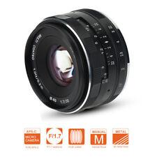 35mm F1.7 Lens Objektiv Portraitobjektiv Passend für Sony E-Mounts Kameras
