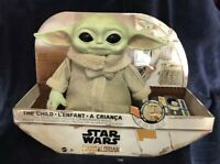 Disney's The Child Real Moves Plush Baby Yoda Mattel Star Wars: The Mandalorian