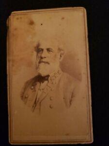 Robert E. Lee CDV Civil War Confederate