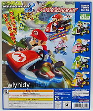 Super Mario Kart Mini Pull Back Car Complete 5pcs - Takara Tomy  h#6