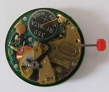 ESA 9157 elektromechanisches Werk der 70er Jahre, Datum bei 3, NOS swiss made