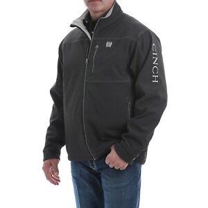 Cinch Men's Concealed Carry Textured Bonded Black Jacket MWJ1537001