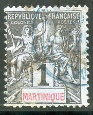 STAMP / TIMBRES COLONIES FRANCAISES OBLITERE // MARTINIQUE N° 31